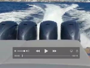 Yamaha V8 XTO Offshore