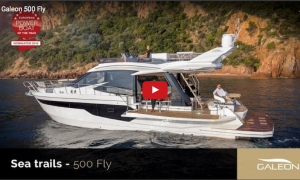 Galeon 500 fly Youtube