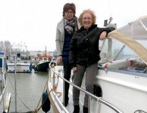 Vaarvrouw Diederique en Christien