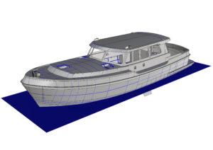 Kuster Yachts Motorboot