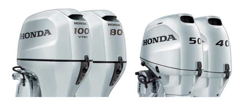 Honda presenteert de nieuwe BF-serie
