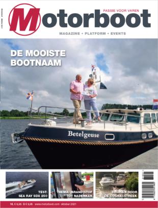 Motorboot van oktober 2021